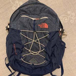 Navy Blue North Face Borealis backpack